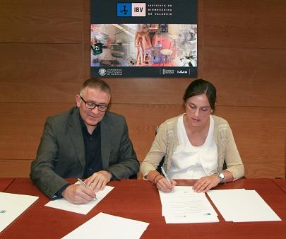 El IBV y la Fundación Trinidad Alfonso colaborarán para fomentar la práctica deportiva y hábitos de vida saludables