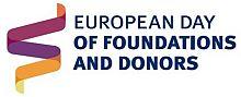 Logo Día europeo de las fundaciones y los donantes